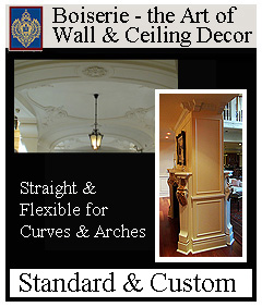 Trim for Walls and Ceilings