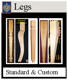 Furniture Legs Custom sizes available