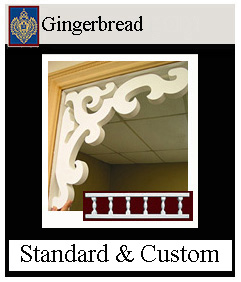 Gingerbread & Fretwork, Gable Ends Custom sizes