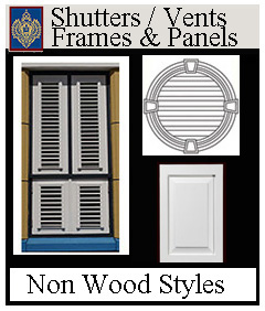 Shutters Decorative & Operative Types